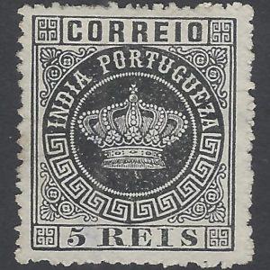 Portuguese India 1877 Crown